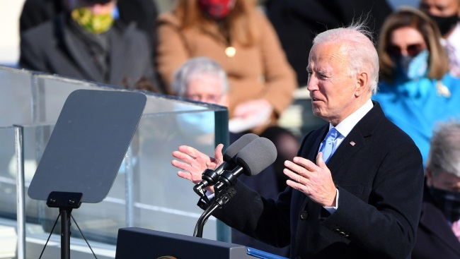 This is America's day': Biden inaugurated as 46th president, Harris sworn in as vice president