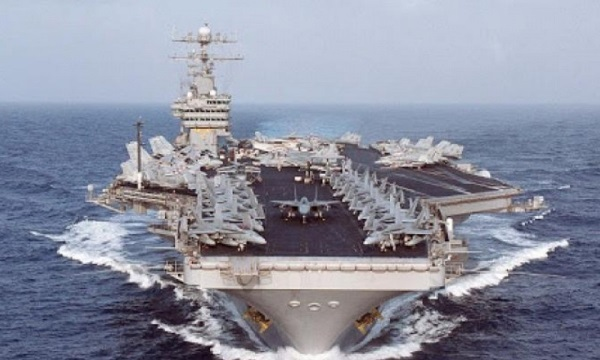 Crete Welcomes US Aircraft Carrier Dwight D. Eisenhower