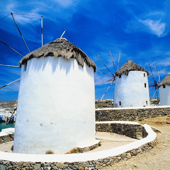 Famous Places in Mykonos, Greece