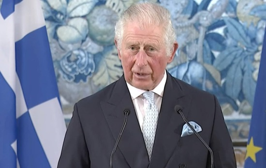 Prince Charles: Today, As in 1821, Greece Can Count on Her Friends